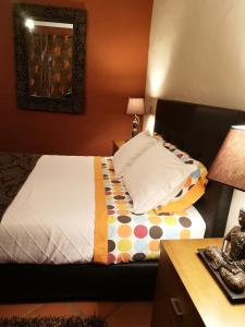 A bed or beds in a room at Monte Santa Catarina