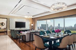A restaurant or other place to eat at The St. Regis Mumbai