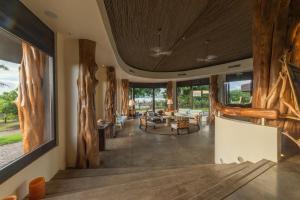 Un restaurante o sitio para comer en Nayara Hangaroa