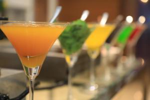 Drinks at Radisson Udaipur