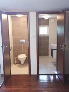 Kúpeľňa v ubytovaní Chata Zoch