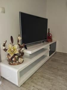 A television and/or entertainment centre at Apartman Nela