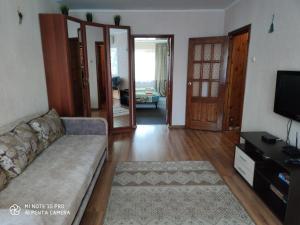 Гостиная зона в Apartment Karamzina 43