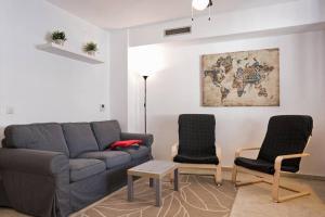Posezení v ubytování House Pedregalejo Malaga