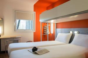 Voodi või voodid majutusasutuse ibis budget Amsterdam Airport toas