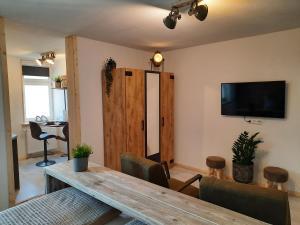 TV/Unterhaltungsangebot in der Unterkunft Apartments Zum Glasmacher