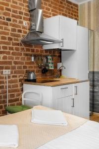 Кухня или мини-кухня в Rosen