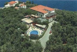 Vista aerea di Hotel La Badia
