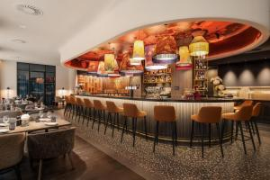 A restaurant or other place to eat at Marriott Executive Apartments Brussels