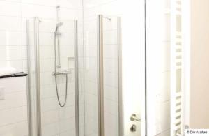 Ein Badezimmer in der Unterkunft Landgasthof Vogt