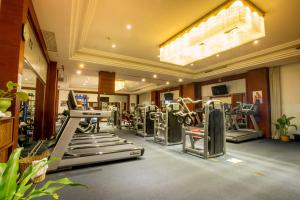 The fitness center and/or fitness facilities at Landmark Mekong Riverside Hotel