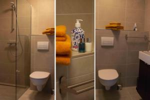 Een badkamer bij B&B De Hoffstal