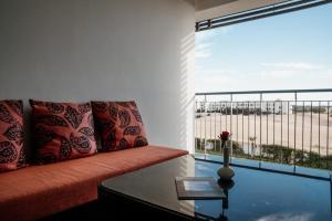 Coin salon dans l'établissement Hotel Sofitel Agadir Thalassa Sea & Spa