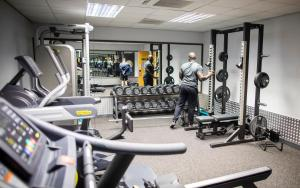 The fitness center and/or fitness facilities at Yarnfield Park Training And Conference Centre