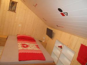 Ein Bett oder Betten in einem Zimmer der Unterkunft postman8 - Bed and Breakfast