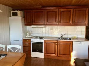 Kjøkken eller kjøkkenkrok på Nabben Inn