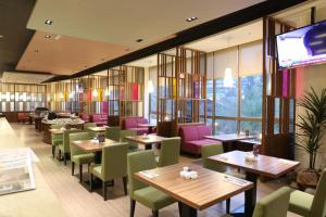 A restaurant or other place to eat at Beitou Hot Spring Resort
