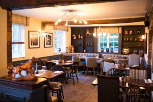 A restaurant or other place to eat at The Dog in Over Peover