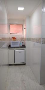 A cozinha ou cozinha compacta de Hotel Marbor