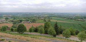 A bird's-eye view of La Cambra dé Monflanquin