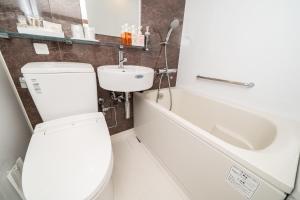 A bathroom at Hotel Sunlite Shinjuku