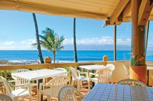 A restaurant or other place to eat at Napili Shores Maui by Outrigger