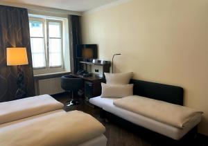 Гостиная зона в Hotel Deutsche Eiche