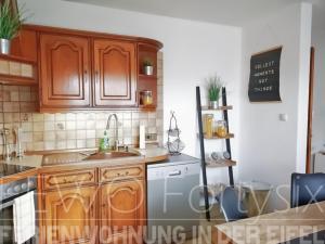 Küche/Küchenzeile in der Unterkunft FeWo Fortysix