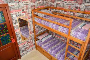 Двухъярусная кровать или двухъярусные кровати в номере Arambol