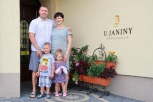 Rodzina zatrzymująca się w obiekcie Pensjonat U Janiny Bolesławiec