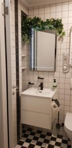 Ванная комната в Апартаменты у Медного всадника