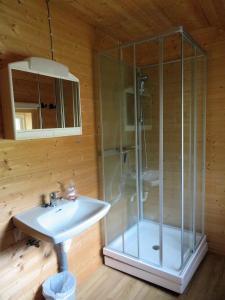 Ein Badezimmer in der Unterkunft Kalvatn Turistsenter