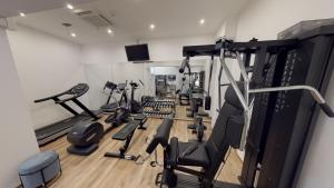 The fitness center and/or fitness facilities at Hotel Seven