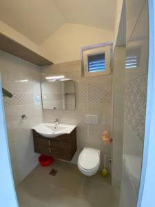 A bathroom at Apartmani Marko