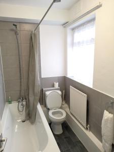 A bathroom at The Mercury