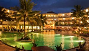 The swimming pool at or near Occidental Eden Beruwala, a member of Barcelo Hotel Group