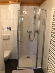 Ein Badezimmer in der Unterkunft Appartement Asitz