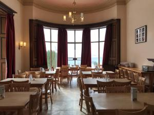 A restaurant or other place to eat at FSC Malham Tarn Hostel