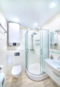 A bathroom at Apartment on Fastovskaya 29