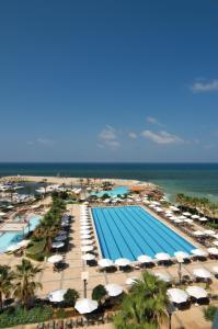 منظر المسبح في فندق موڤنبيك بيروت او بالجوار