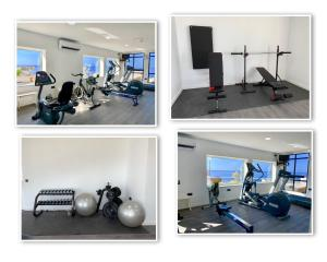 The fitness center and/or fitness facilities at Bahia Blanca