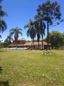 A garden outside Chacrinha das Palmeiras