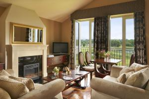 A seating area at Lough Erne Resort
