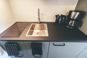 A kitchen or kitchenette at Zoetenaar Zoutelande