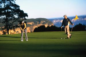 Golf facilities at the hotel or nearby