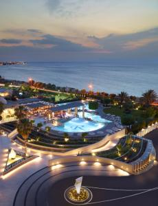 A bird's-eye view of Rhodes Bay Hotel & Spa