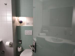 Ein Badezimmer in der Unterkunft Hotel an der Stadtmauer