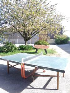 Ping-pong facilities at GRAND grigny or nearby