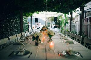 A restaurant or other place to eat at Vila Perast Boutique Hotel