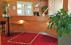 The lobby or reception area at Hotel Mingarden